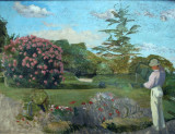 The Little Gardener, ca 1866, Frédéric Bazille (1841-1870)
