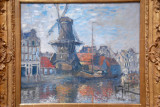 The Windmill on the Onbekende Gracht, Amsterdam, 1874, Claude Monet (1840-1926)