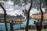 View of the Seine, Paris, 1871, Armand Guillaumin (1841-1927)