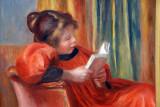 Girl Reading, ca 1890, Auguste Renoir (1841-1919)