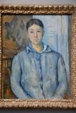 Madame Cézanne in Blue, 1888-90, Paul Cézanne (1839-1906)