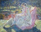 Sunbath, ca 1913, Frederick Carl Frieseke (1874-1939)