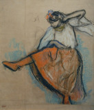 The Russian Dancer, ca 1895, Edgar Degas (1834-1917)