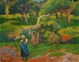 Landscape at Le Pouldu, 1890, Paul Sérusier (1864-1927)