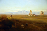 A View of the Roman Countryside, 1848, Jean-Achille Benouville (1815-1891)