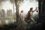 Orpheus Leading Eurydice from the Underworld, 1861, Camille Corot (1796-1875)