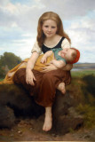 The Elder Sister, 1869, William Bouguereau (1825-1905)