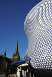 Bull Ring and Church of St. Martin, Birmingham