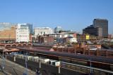 Moor Street Station from the Bullring Parking Garage, Birmingham