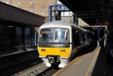 Local train at Birmingham Moor Street Station