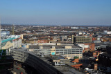 View to the east from the Radisson Hotel, Birmingham