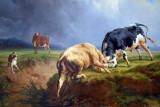 A Bull Fight, 1855, Jacques-Raymond Brascasset (1804-1867)