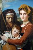 Roman Shepherd Family in the Campagna, 1823, François-Joseph Navez (1787-1869)