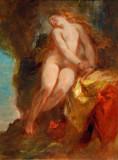 Andromeda, 1852, Eugène Delacroix (1798-1863)