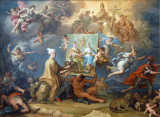 Allegory of the Consequences of the Peace of Utrecht, ca 1714-18, Paolo de Matteis (1662-1728)