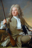 M. d'Hotel in Hunting Clothes, 1727, Jean-Marc Nattier (1685-1766)