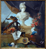 Allegory of Europe, 1722, Jean-Baptiste Oudry (1686-1755)