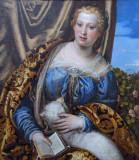 Portrait of a Woman as St. Agnes, 1580s, Veronese (1528-1588)
