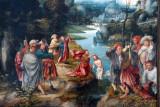 Baptism of Christ, 1520s, South Netherlandish