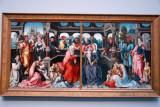 Holy Kinship ca 1500 by the Master of Frankfurt (1460-1533 ca)