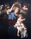 Virgin and Child with Angels ca 1620, Bartolomeo Cavarozzi (ca 1590-1625)