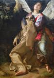 The Stigmatization of St. Francis, ca 1600, Orazio Gentileschi (1563-1639)