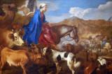 Journey of Rebecca, ca 1637-39, Giovanni Benedetto Castiglione (1609-1664)