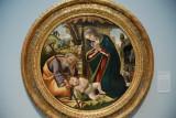 Admiration of the Christ Child ca 1500, Sandro Botticelli (1444/45-1510)