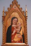 Madonna and Child ca 1336, Bernardo Daddi (active 1320-1348)