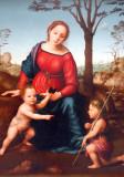 Madonna and Child with St. John the Baptist, 1510s, Giuliano Bugiardini (1475-1554)