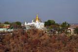 Sagaing Hills pagoda - N21 54.3/E095 59.7