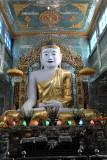 Monumental Buddha at Soon U Ponya Shin Pagoda