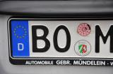 German license plate - Bochum
