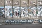 West Bank Separation Wall graffiti - Je suis le Palestinien