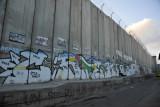 West Bank Separation Wall graffiti - Bethlehem