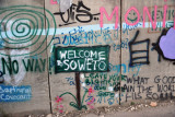 West Bank Separation Wall graffiti - Welcome to Soweto