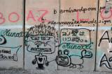 West Bank Separation Wall graffiti - Japanese