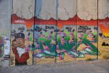 West Bank Separation Wall graffiti - Hip Hop