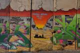 West Bank Separation Wall graffiti - Mujeres Artistas Por La Paz