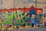 West Bank Separation Wall graffiti - Style Wars II