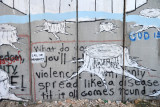 West Bank Separation Wall graffiti - Call for Humanity