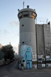 West Bank Separation Wall watch tower, Bethlehem