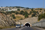 One of two large tunnels between Gilo and Bayt Jala on Highway 60 south of Jerusalem