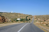 Continuing on Highway 60 south - Israeli settlement of Bet Haggai ahead on the left