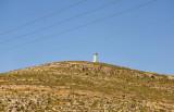 Israeli watchtower overlooking Highway 60 south of Hebron