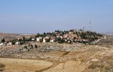 The Israeli West Bank settlement of Shim'a ( שִׁמְעָה ) established 1982