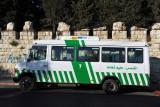 Arab bus 7 between Jerusalem and Shufuat Refugee Camp