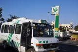 Palestinian bus 18 to Ramallah, East Jerusalem