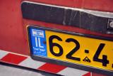 Israeli License Plate - IL