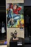 Artwork by Irit Lev, Mamilla Mall